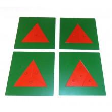 Geteilte Dreiecke