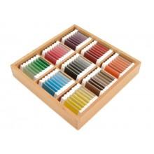Farbtäfelchen Schattierungskasten