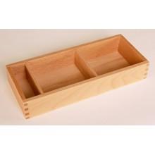 Box mit 3 Fächern 10 x 25,5