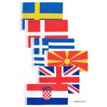 Flaggen Europa Einzeln