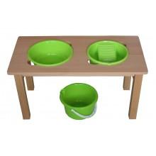 Waschtisch Grün