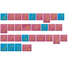 Sandpapierbuchstaben Lateinische Ausgangsschrift GROSSBUCHSTABEN