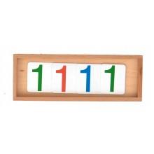 Zahlenkarten Einführung Dezimalsystem