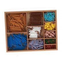 Perlenstäbchen zur Multiplikation LOSE Perlen
