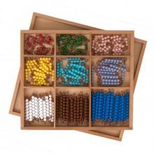 Perlenstäbchen für das Multiplikationsbrett LOSE Perlen