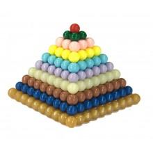 Quadrate Kunststoff FESTE Perlen