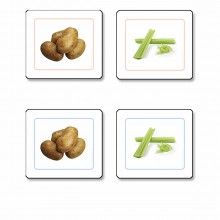 Vegetables Matching Cards presentation material