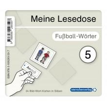 Meine Lesedose 5 - Fußball-Wörter