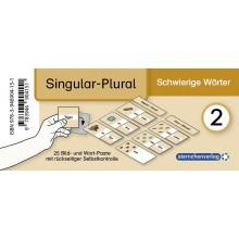 Meine Grammatikdose 2 - Singular-Plural – Schwierige Wörter