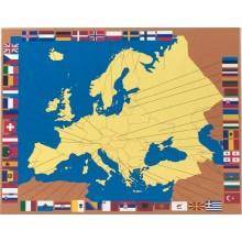 Steckkarten Europa deutsch