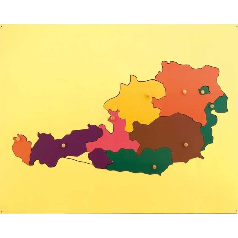 Puzzle Österreich