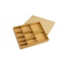 Box 10 Fächer / für Perlenstäbchen zur Multiplikation