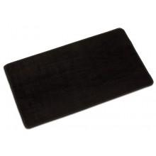 Arbeitsteppich - schwarz