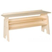 Tisch für die Glocken / Klangstäbe