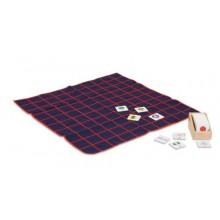 Kasten mit kleinen Zahlenkarten aus Kunststoff (für das Hunderterfeld)