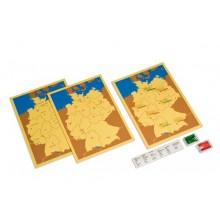 Steckkarten Deutschland