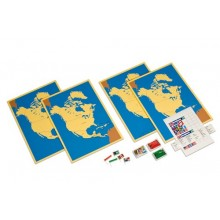 Steckkarten Nordamerika