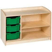 Schrank mit 3 Schubladen (69 cm)