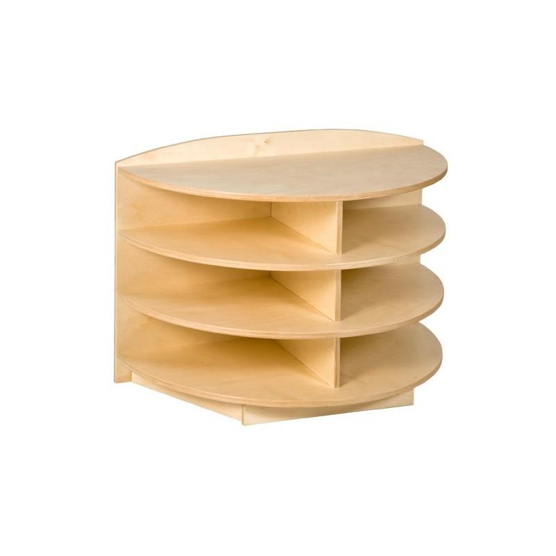 eckschrank rund 69 cm pruefl kg. Black Bedroom Furniture Sets. Home Design Ideas