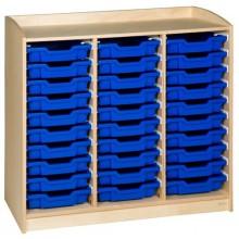 Schrank mit 30 Schubladen (101 cm)